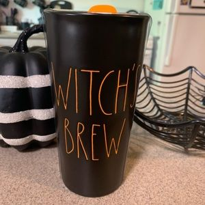 Rae Dunn 2019 Halloween Witch's Brew travel cup